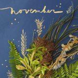 November Calendar Flip