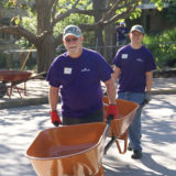"Hallmark volunteers help at Kansas City's ""Wild Day at the Zoo"" volunteer activity."