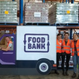 Hallmark volunteers at Food Bank in Autralia