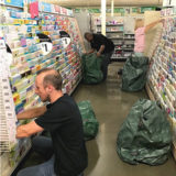 Green Recycle Bags, Dollar Tree