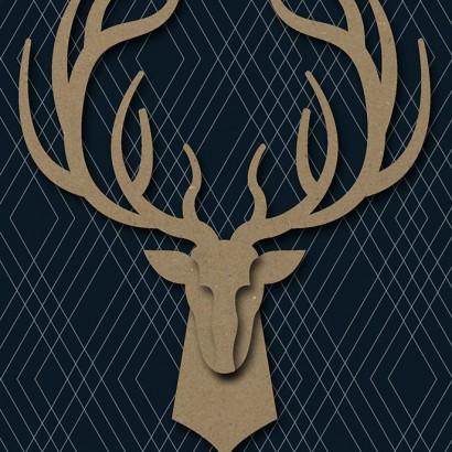 Hallmark Signature - Deer Father's Day Card