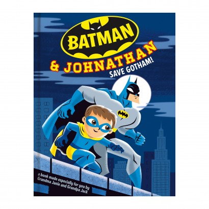 Batman™ Personalized Book