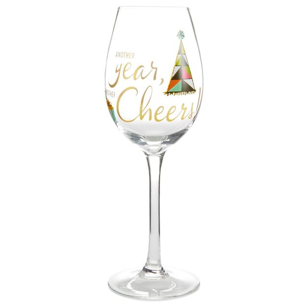 Cheers Wine Glass