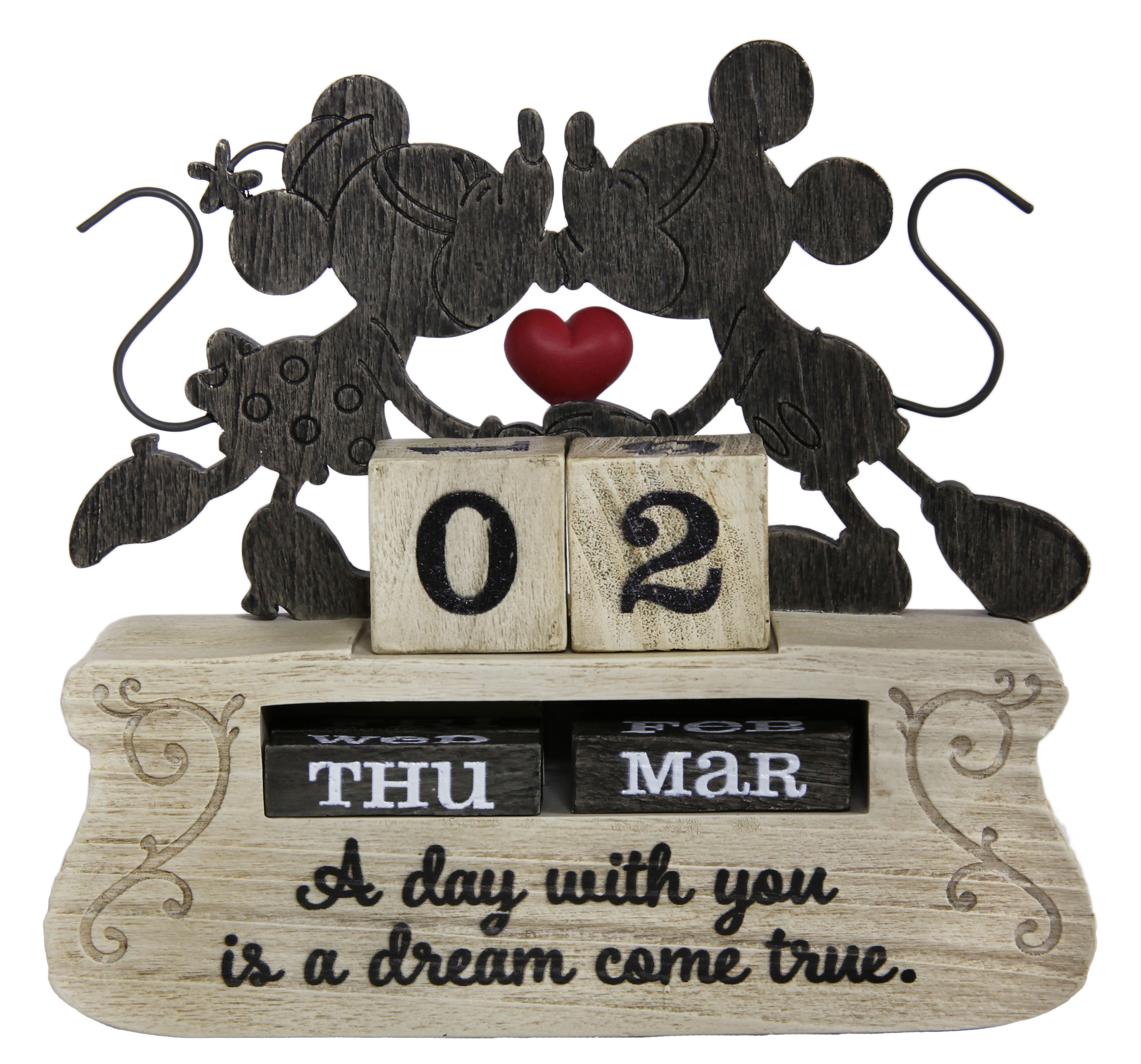 Mickey Mouse and Minnie Mouse Perpetual Calendar