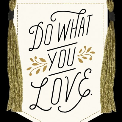 Hallmark Signature -Do What You Love Graduation Card