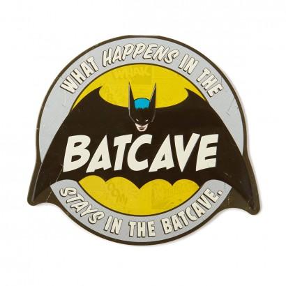 Batcave Metal Sign