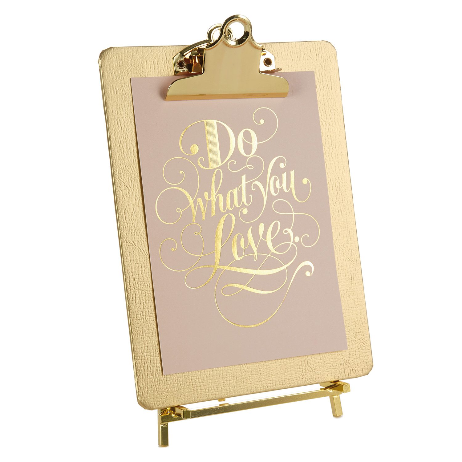 Gold Clipboard Picture Frame - Hallmark Corporate