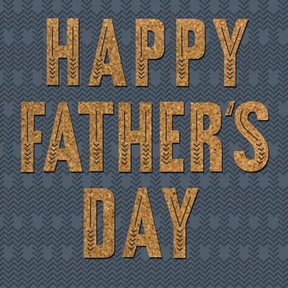 Hallmark Signature - Happy Father's Day Card
