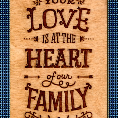 Hallmark Signature -Heart of our Family Father's Day Card