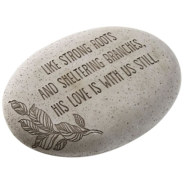 His Love Is With Us Still Garden Stone