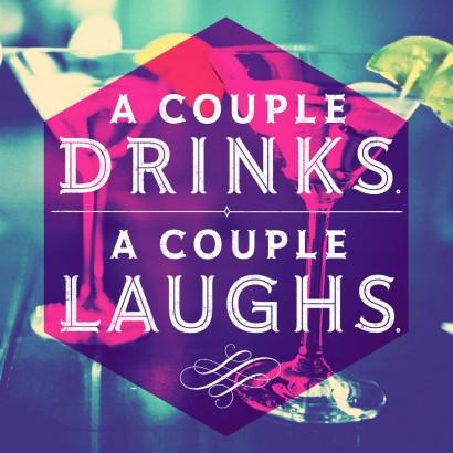 A Couple Drinks Musical Birthday Card