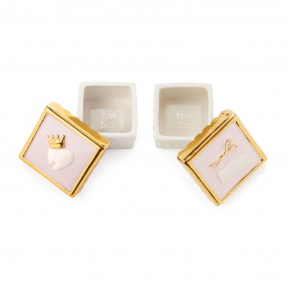 Princess Tooth and Curl Ceramic Box Set