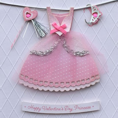 Valentine's Day Card-Princess