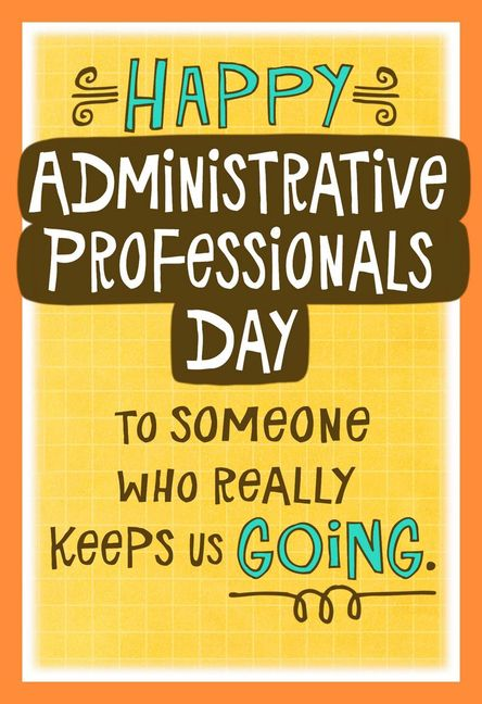 Administrative professionals day hallmark corporate administrative professionals day cards m4hsunfo