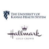Hallmark Gold Crown and University of Kansas Logo