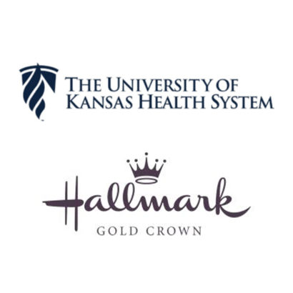 Hallmark Gold Crown and University of Kansas Logo