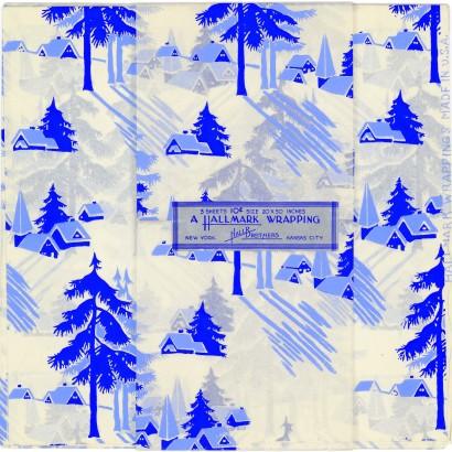 Hallmark Gift Wrap - 1917 Gift Wrap