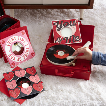 Hallmark Introduces First Ever Vinyl Record Greeting Cards This