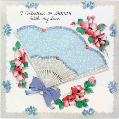 1945 Valentine's Day Card