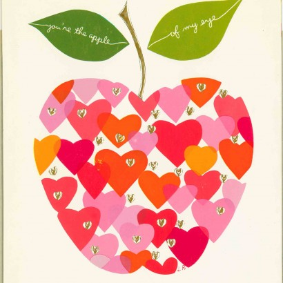 1963 Valentine's Day Card