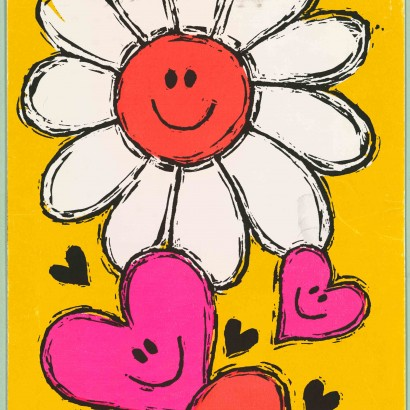 1968 Valentine's Day Card