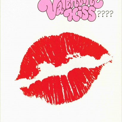 1970 Valentine's Day Card