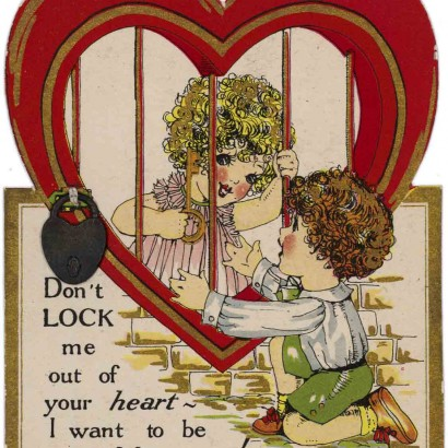 1928 Valentine's Day Card