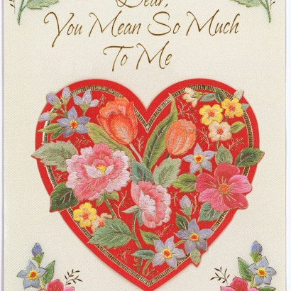 1982 Valentine's Day Card