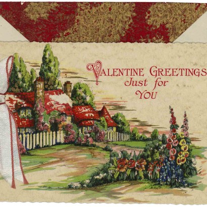 1930 Valentine's Day Card