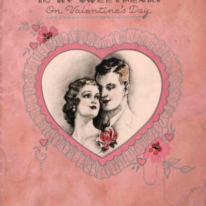 1933 Valentine's Day Card