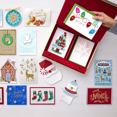 holiday card assortment box thumbnail for current image - Current Christmas Cards