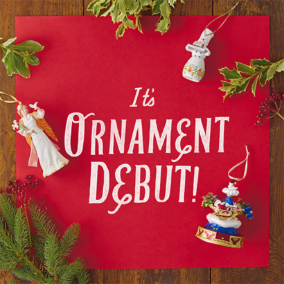 more than 125 new hallmark keepsake ornaments to be released at annual october debut event - Hallmark Christmas Decorations
