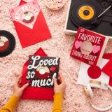 Hallmark Vinyl Record Valentine's Day Cards