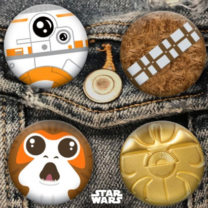 Star Wars Day Pins Set of 4