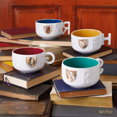 Harry Potter Gifts 4 Hogwarts Houses Soup Mugs