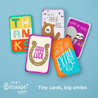 Just Because Minis Cards