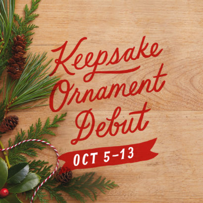 Keepsake Ornament Debut